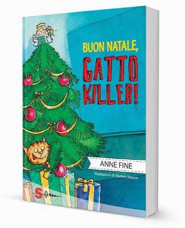 Copertina del libro Buon Natale Gatto Killer, Edizioni Sonda