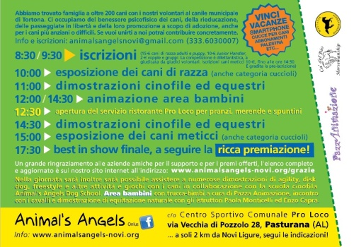 Programma Animal's Angels Party